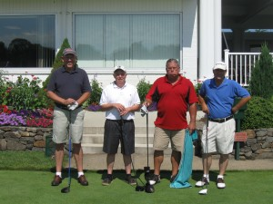 Winners of Team second low net with a 57